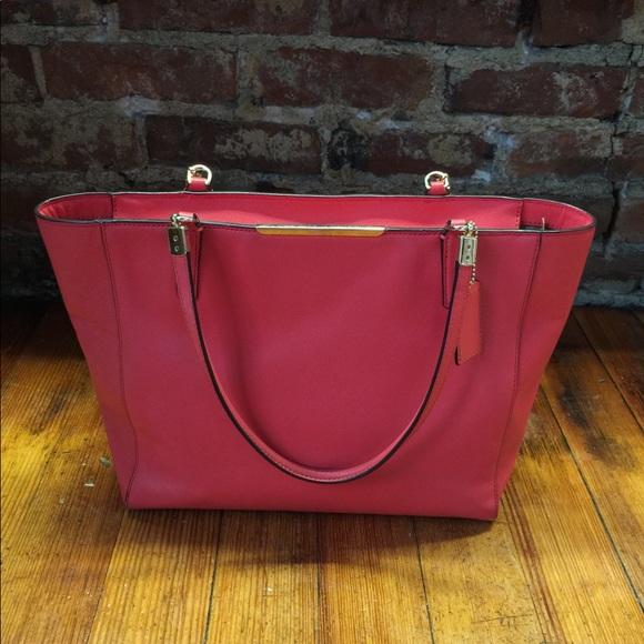Coach Handbags - Coach Pink Tote